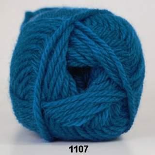 Ragg strømpegarn 1107 turkos