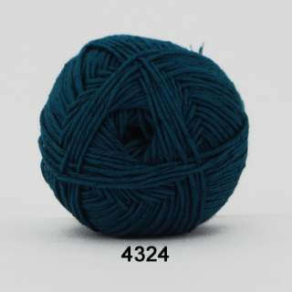 Green Cotton Linen 4324 petrol