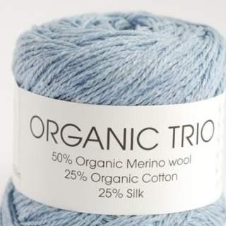 Organic Trio 5014 ljusblå
