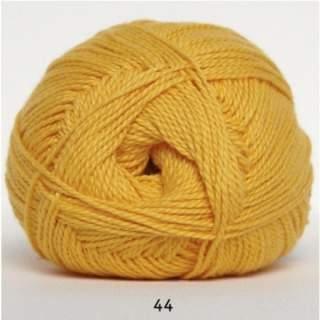 Blöd Bomuld 4/2 nr 8 44 gul senapsgul
