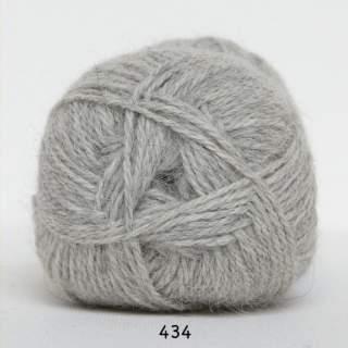 Hjerte Alpaca 0434 ljusgrå