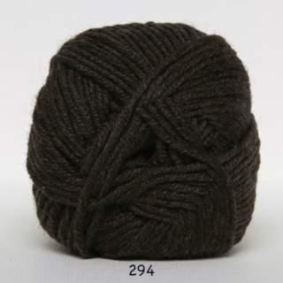 Extrafine Merino 120 0294 mörkbrun