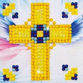 Diamond Dotz DDS.003 Golden Cross-Needleart World