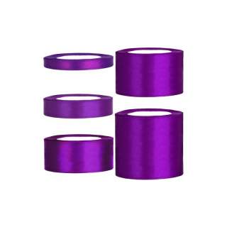 Satinband rulle 84 purple