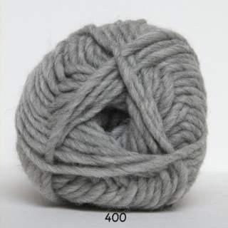 Natur uld 0400 ljusgrå
