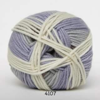 Extrafine Merino 150 4107 ljusblå/natur/gammelrosa