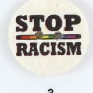 Knapp 003 Stop Racism 25 mm