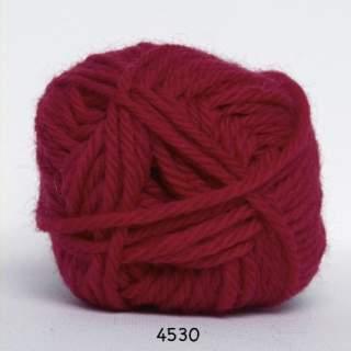 Ragg strømpegarn 4530 röd