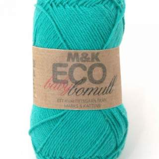 Eco baby bomull 916 turquoise