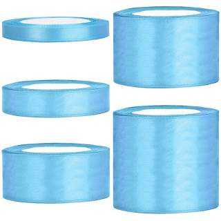 Satinband rulle 71 light blue