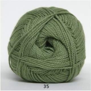 Blöd Bomuld 4/2 nr 8 35 grön