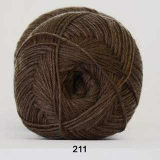 Aloe Sockwool 0211 brun