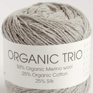 Organic Trio 5013 silvergrå
