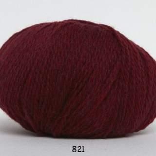 Hjerte Fine 0821 vinröd