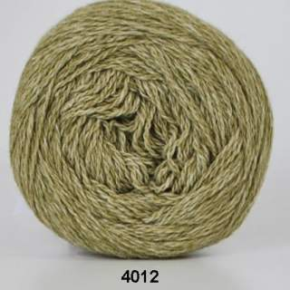 Organic 350 - Wool Cotton 4012 limegrön