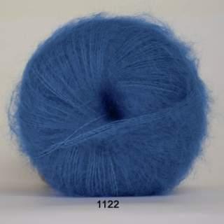 Silk Kid Mohair 1122 blå