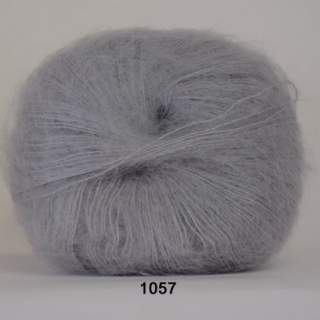 Silk Kid Mohair 1057 grå