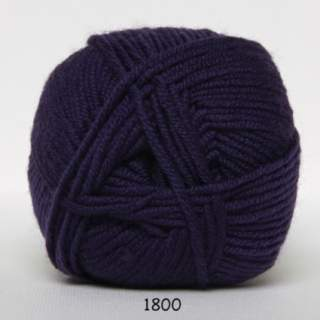 Extrafine Merino 150 1800 plommon