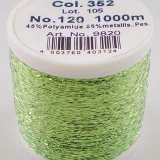 Metallic Madeira 352 ljusgrön