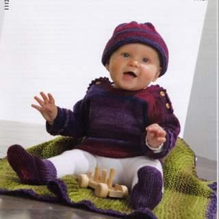 Mönster 11124 babytröja mm