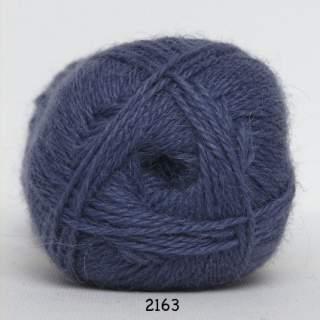 Hjerte Alpaca 2163 jeansblå