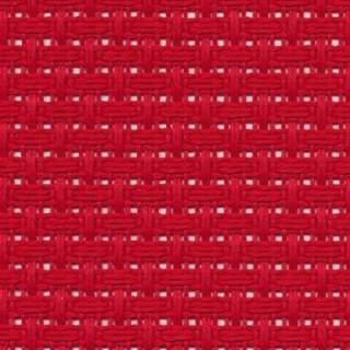 Aidaväv 1,45 rutor/cm röd