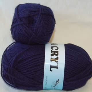 Jacryl 26307 marinblå