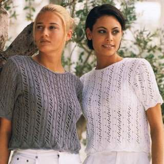 99009 kortärmad tröja i blend