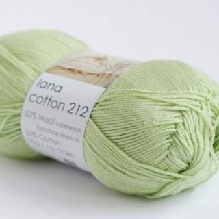 Lana cotton 212 7093 limegrön