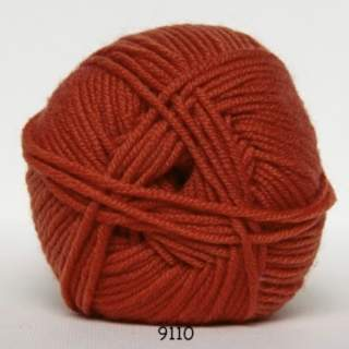 Extrafine Merino 50 9110 orange