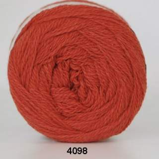 Organic 350 - Wool Cotton 4098 terrakotta