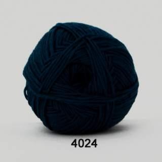 Green Cotton Linen 4024 marinblå