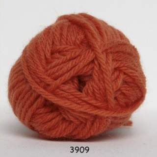 Ragg strømpegarn 3909 orange