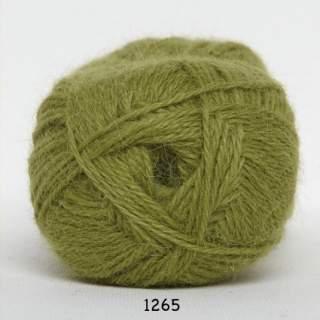 Hjerte Alpaca 1265 olivegrön