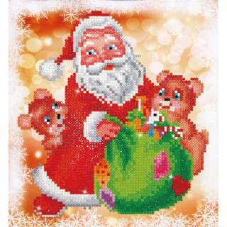Diamond Dotz DD3.011 SANTA & TEDDIES