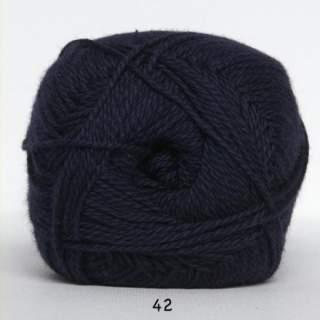 Blöd Bomuld 4/2 nr 8 42 marinblå