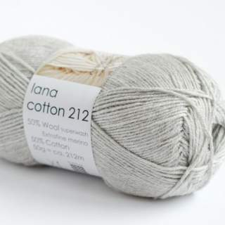 Lana cotton 212 0434 ljusgrå