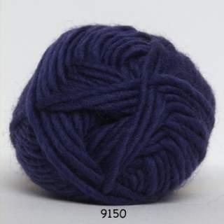 Natur uld 9150 mörk plommon