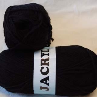 Jacryl 26018 svart