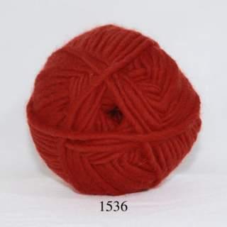 Natur uld 1536 mörk orange