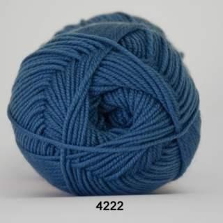 Extrafine Merino 150 4222 vattenblå
