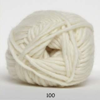 Natur uld 0100 naturvit