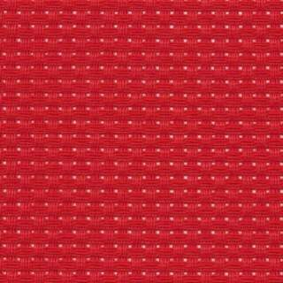 Herta Aidaväv 2,45 rutor/cm röd