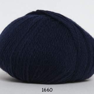 Hjerte Fine 1660 marinblå