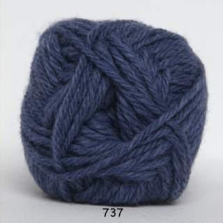 Ragg strømpegarn 0737 blå