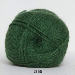 Hjerte Alpaca 1355 gräsgrön