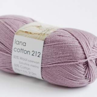 Lana cotton 212 3304 gammelrosa