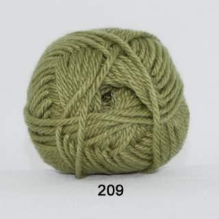 Ragg strømpegarn 0209 olivgrön