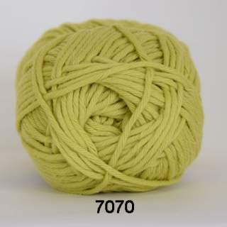 Cotton 8/8 7070 limegrön