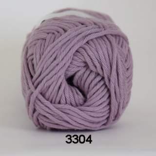 Cotton 8/8 3304 gammelrosa